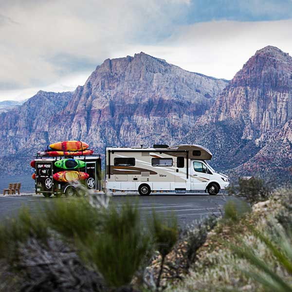 rv boondocking in teh mountains