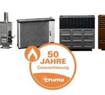 50th anniversary of camper heating